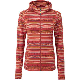 Sherpa Preeti Jacket Women red/colourful
